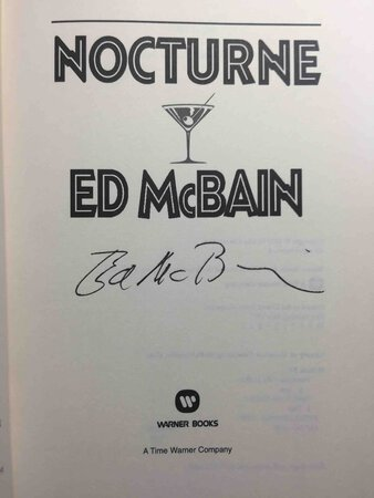 NOCTURNE. by McBain, Ed.