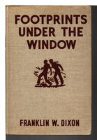 FOOTPRINTS UNDER THE WINDOW: The Hardy Boys Series 12. by Dixon, Franklin W.