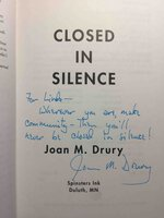 CLOSED IN SILENCE. by Drury, Joan M.