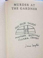 MURDER AT THE GARDNER. by Langton, Jane.