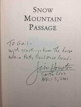 SNOW MOUNTAIN PASSAGE. by Houston, James D.