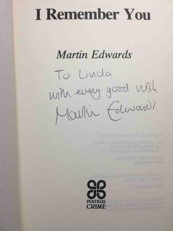 I REMEMBER YOU. by Edwards, Martin.