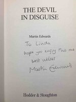 THE DEVIL IN DISGUISE. by Edwards, Martin.