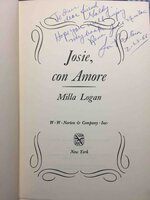 JOSIE, CON AMORE. by Logan, Milla.
