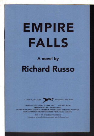 EMPIRE FALLS by Russo, Richard.