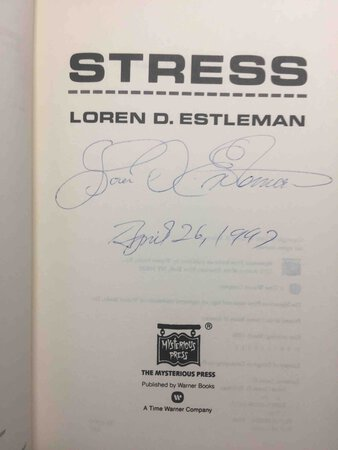STRESS. by Estleman, Loren D.