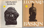 Another image of LEONARD BASKIN: COLLECTION OF TWELVE ITEMS: Exhibition Catalogues and Related Epherma, 1969 to 1985. by Baskin, Leonard.
