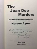 THE JUAN DOE MURDERS. by Ayres, Noreen.