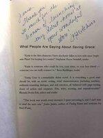 SAVING GRACE. by Hutchins, Pamela Fagan.
