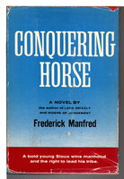 CONQUERING HORSE. by Manfred, Frederick aka Feike Feikema (1912 - 1994.)