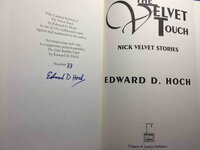 THE VELVET TOUCH: Nick Velvet Stories. by Hoch, Edward D.