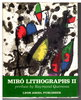 Another image of MIRO LITHOGRAPHS II. by Miro, Joan; preface by Raymond Queneau.