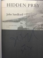 HIDDEN PREY. by Sandford, John (pseudonym for John Camp.)