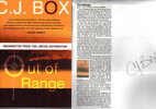 Another image of OUT OF RANGE. by Box, C. J.