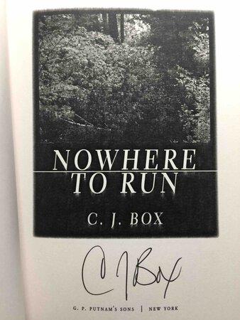 NOWHERE TO RUN. by Box, C. J.