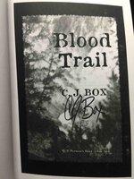 BLOOD TRAIL. by Box, C. J.