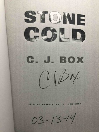 STONE COLD. by Box, C. J.