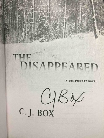 THE DISAPPEARED. by Box, C. J.