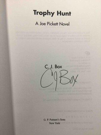 TROPHY HUNT: A Joe Pickett Novel. by Box, C. J.