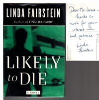LIKELY TO DIE. by Fairstein, Linda.