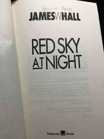 RED SKY AT NIGHT. by Hall, James W.