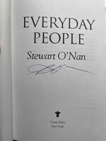 EVERYDAY PEOPLE. by O'Nan, Stewart.