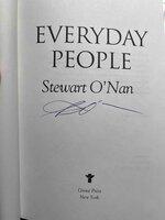 EVERYDAY PEOPLE. by O'Nan, Stewart.