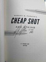 Robert B. Parker's CHEAP SHOT. by Atkins, Ace