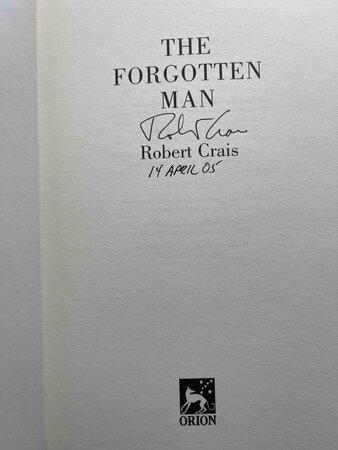 THE FORGOTTEN MAN. by Crais, Robert.