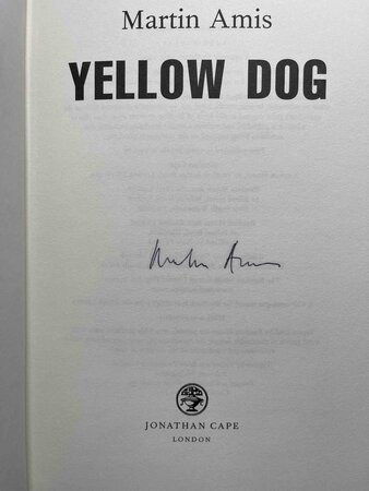 YELLOW DOG. by Amis, Martin