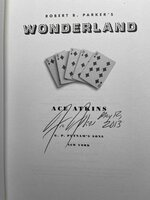 Robert B. Parker's WONDERLAND. by Atkins, Ace