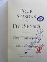 FOUR SEASONS IN FIVE SENSES: Things Worth Savoring. by Masumoto, David Mas.