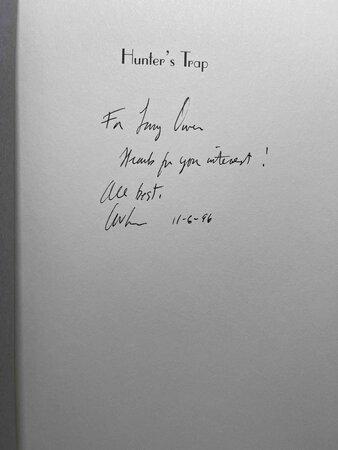 HUNTER'S TRAP. by Smith, C.W.
