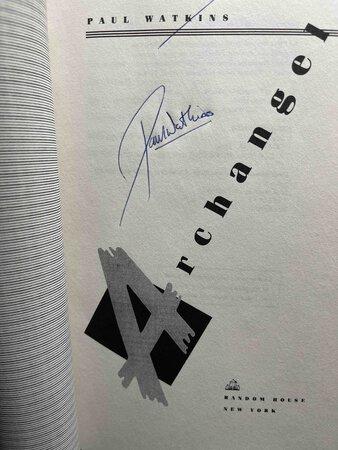 ARCHANGEL. by Watkins, Paul.