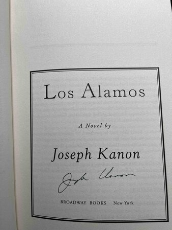 LOS ALAMOS. by Kanon, Joseph.