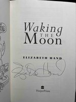 WAKING THE MOON. by Hand, Elizabeth.