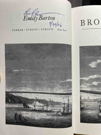 BROOKLAND. by Barton, Emily.