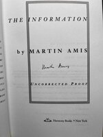 THE INFORMATION. by Amis, Martin