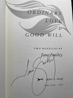 ORDINARY LOVE & GOOD WILL: Two Novellas. by Smiley, Jane