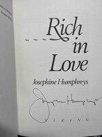 RICH IN LOVE. by Humphreys, Josephine.