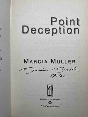 POINT DECEPTION. by Muller, Marcia.