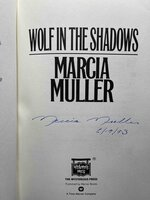 WOLF IN THE SHADOWS. by Muller, Marcia.