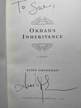 ORHAN'S INHERITANCE. by Ohanesian, Aline.