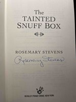 THE TAINTED SNUFF BOX. by Stevens, Rosemary.