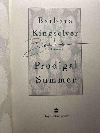 PRODIGAL SUMMER. by Kingsolver, Barbara.