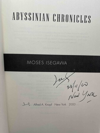 ABYSSINIAN CHRONICLES. by Isegawa, Moses.