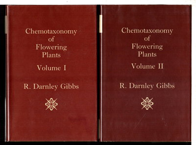 CHEMOTAXONOMY OF FLOWERING PLANTS, VOLUMES I-IV (4 volume set) by Gibbs, R. Darnley.