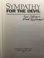 SYMPATHY FOR THE DEVIL. by Anderson, Kent.