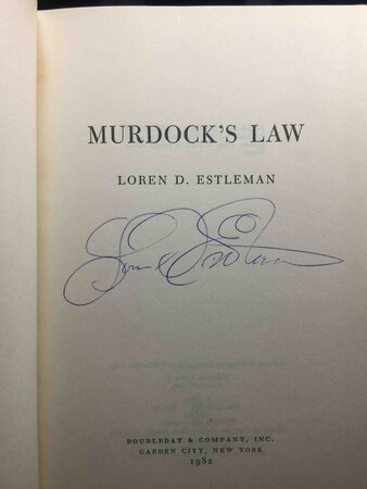 MURDOCK'S LAW. by Estleman, Loren D.