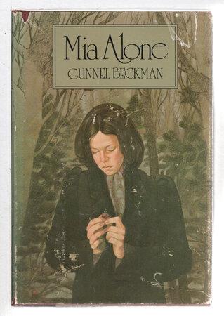 MIA ALONE. by Beckman, Gunnel,